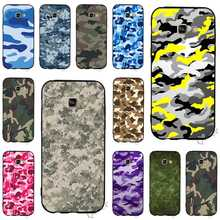 Fashion Camouflage Pattern Camo military Army Phone Cover for Samsung Galaxy S8 Plus Case A3 A5 A6 S7 Edge S6 S9 Note 8 9 Soft