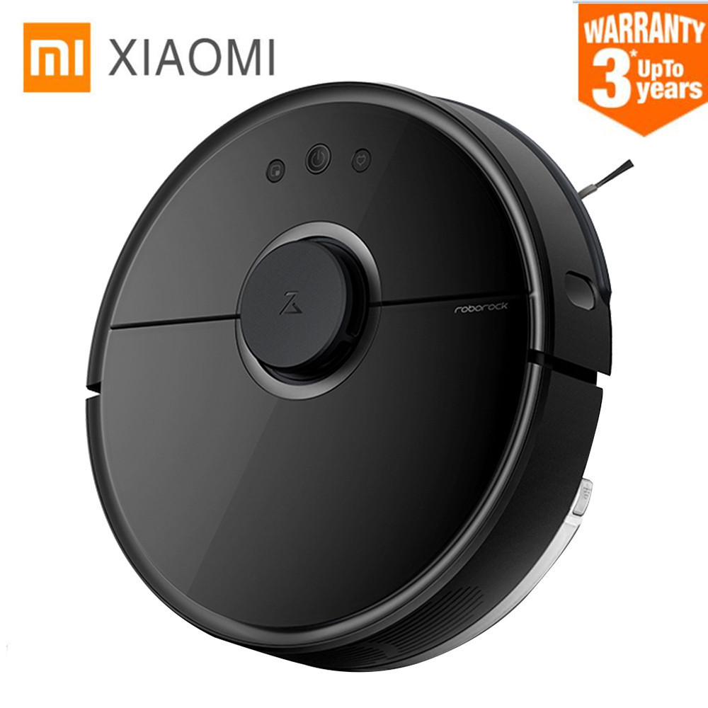 Xiaomi Mi Roborock Vacuum Cleaner Robot 2 Mopping Sweeping Robot Laser 2000Pa Suction LDS Robot 100~240V original xiaomi mi roborock vacuum cleaner 2 mopping floor wifi home cleaning sweeping laser guidance powerful suction lds