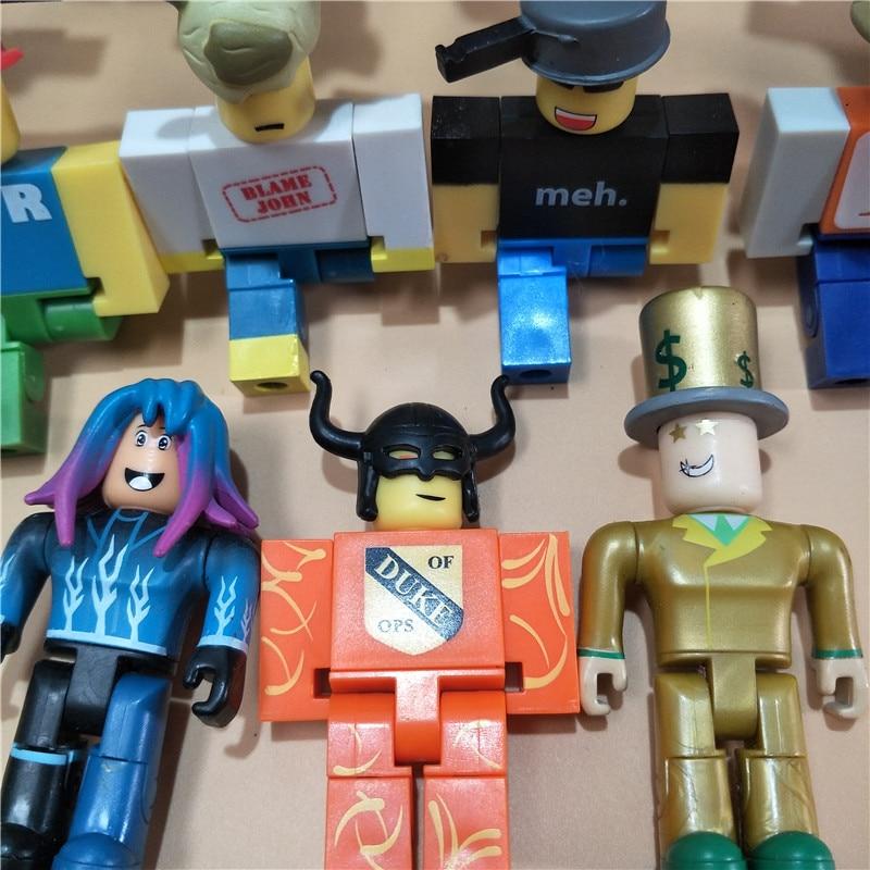 1pcs Cartoon PVC Roblox Game Figma Oyuncak Mermaid Action Toys Figure Anime Toys Collection Gift For Kid's Birthday 32