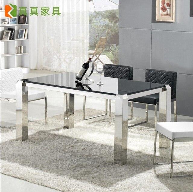 Mesa de comedor bárbara y combinación de mesa de comedor moderna ...