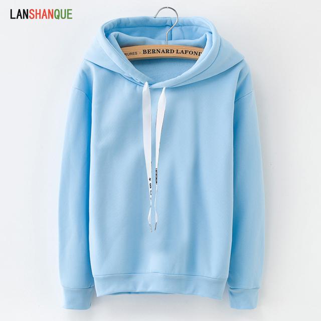 Long Sleeve Solid Color Sweatshirt Hoodie Tracksuit Sportswear