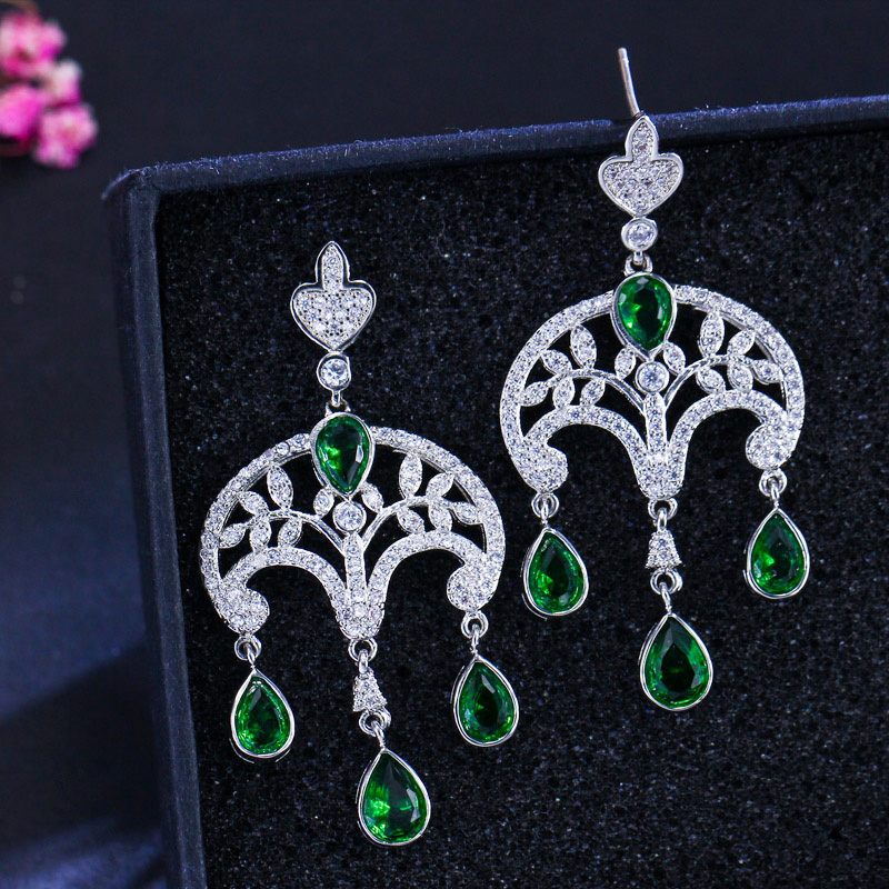 Vintage dangle earrings5