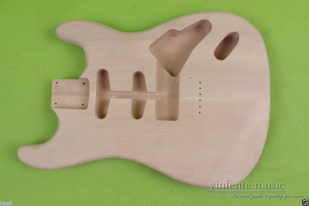New Solid Body DIY electric guitar Body Replace mahogany Unfinished #851 body solid mb507rg