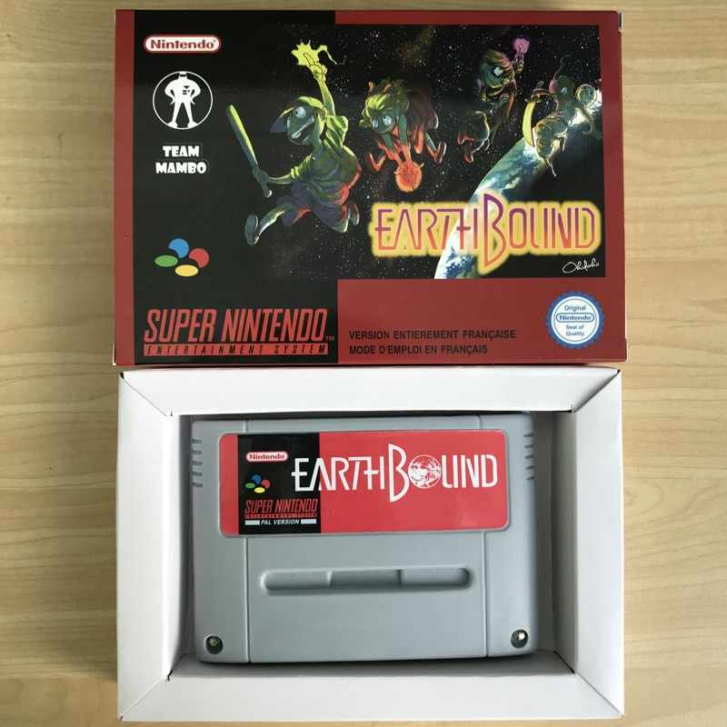 Detail Feedback Questions about Earthbound 16bit game