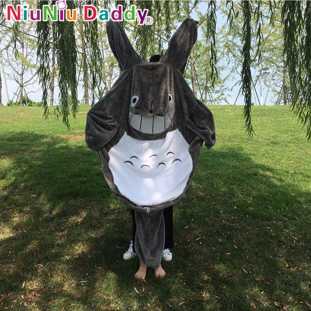 цена на Niuniu Daddy Giant Animal Plush Toy Skin Unstuffed Cotton Gary Smile Totoro Plush Stuffed Dolls For Boys Birthday Children Gifts