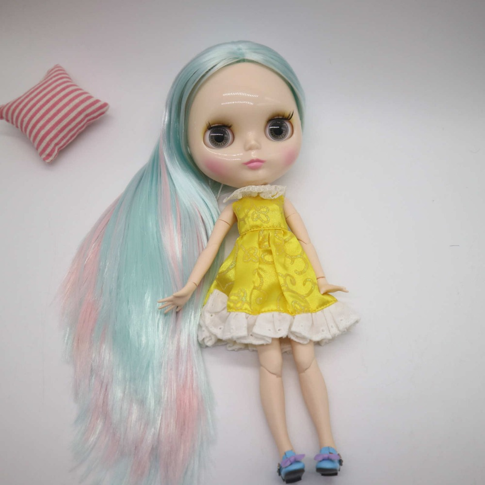 ICY Nude Blyth doll No.BL1329 Pink hair JOINT body Super