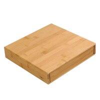 3 Different Styles High Quality Tea Box Rectangle Bamboo Tray Tea Cake Box Puer Tea White Tea Cake Cha He