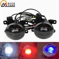 With Devil Eye Fog Lamp for Peugeot 206 207 208 2008 301 307 308 3008 408 508 LED Fog Light Auto Fog Lamp LED model Car Styling