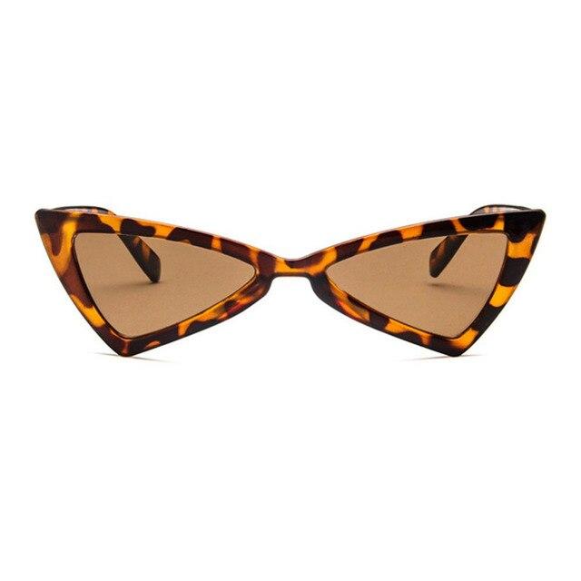 900236c272 Cat Eye Women Sunglasses Irregular Triangle UV400 Eyewear Sun Glasses PC  Frame Resin Lens Travel Sun Glasses