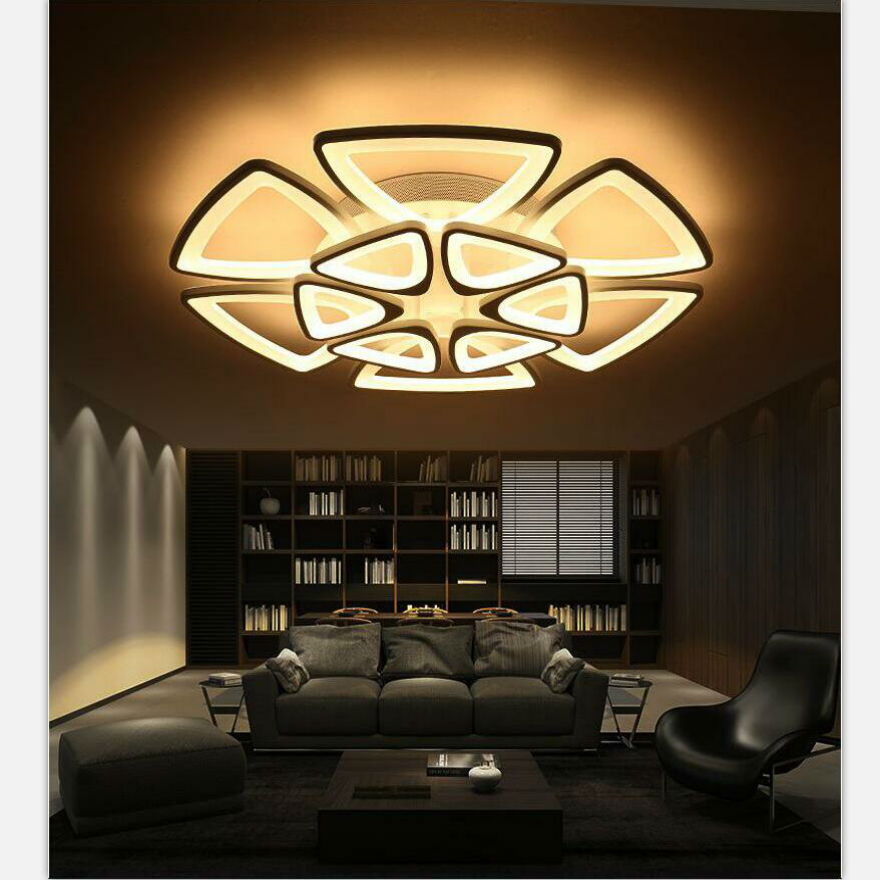 New Acrylic Modern led ceiling lights for living room bedroom Plafon led home Lighting ceiling lamp home lighting light fixtures