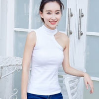 Pretty New Winter Cotton Size Slim Ylang Pure Female Sling Vest Coat Strapless Wear Shirt Woman