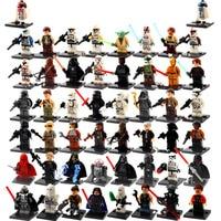 1pcs Single Sale Star Wars Force Awakens Yoda Starwars DIY Building Blocks Bricks Figures Compatible LegoINGlys