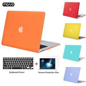 Image 1 - MOSISO Voor Nieuwe MacBook Pro Retina 13 Case 2018 met Touch Bar & Keyboard Cover Matte Laptop Case Cover voor macbook A1706 A1708