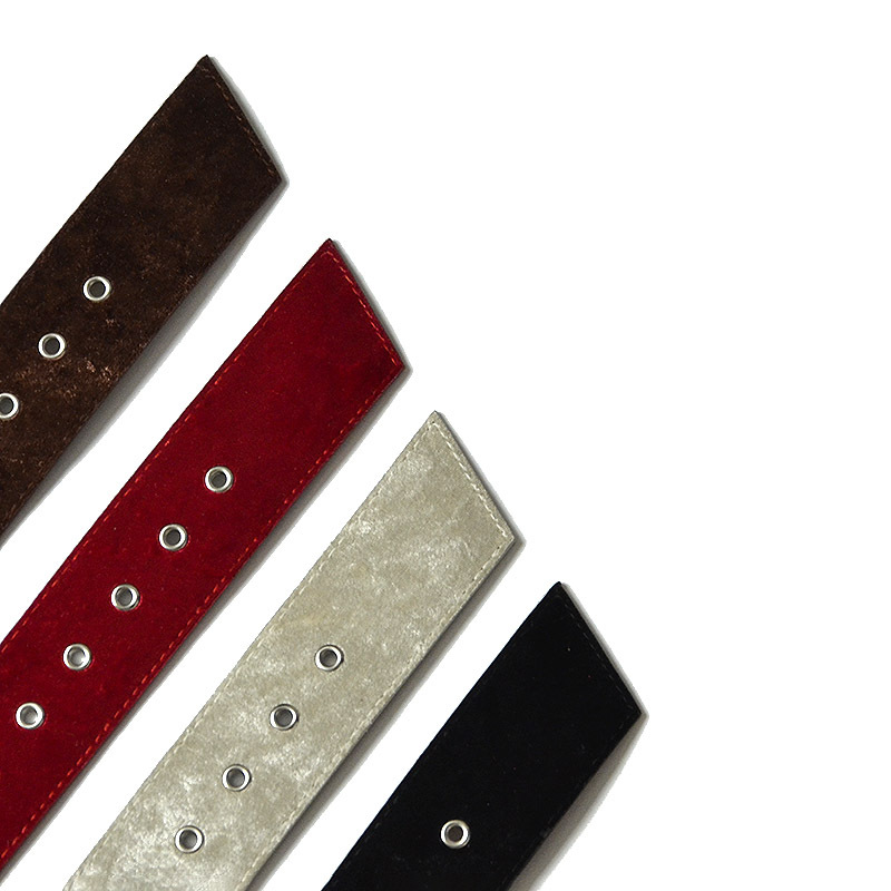 2019 PU Leather Wide Dress Belts for Women Black Red White Straps Waistband Metal Pin Buckles Velvet Waist Belt Ceinture Femme in Women 39 s Belts from Apparel Accessories