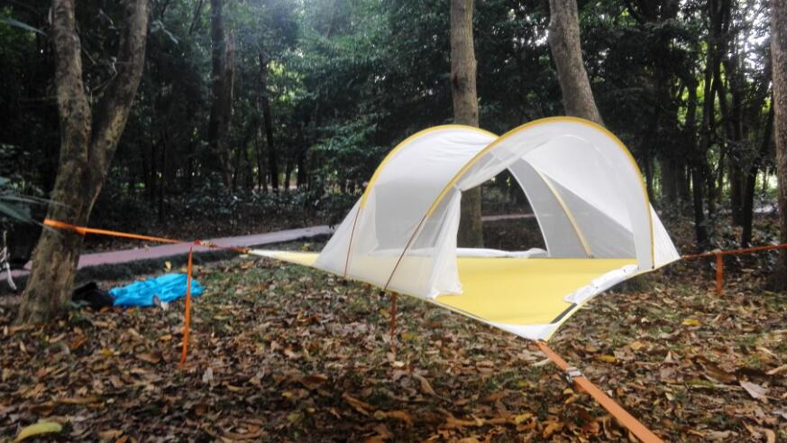 Big Triangle Jungle Hammock Tree Tent In Tents From Sports