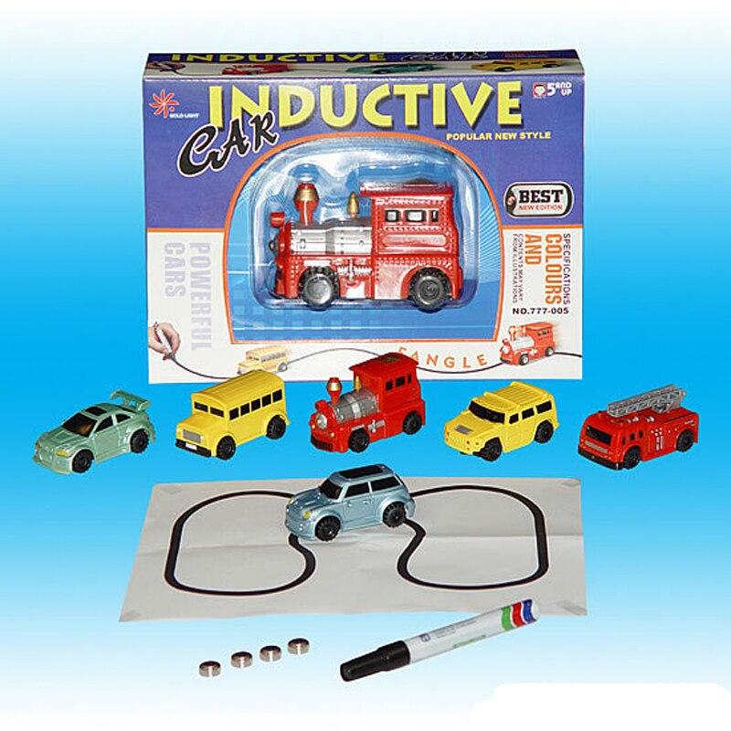 Best Follow Any Drawn Line Magic Pen Inductive Toy Car Truck Bus Tank Model A1 Zauberartikel & -tricks
