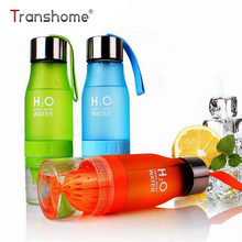 Transhome Personalized Fruit Water Bottle For Droppshipper Customize Your own logo(China)