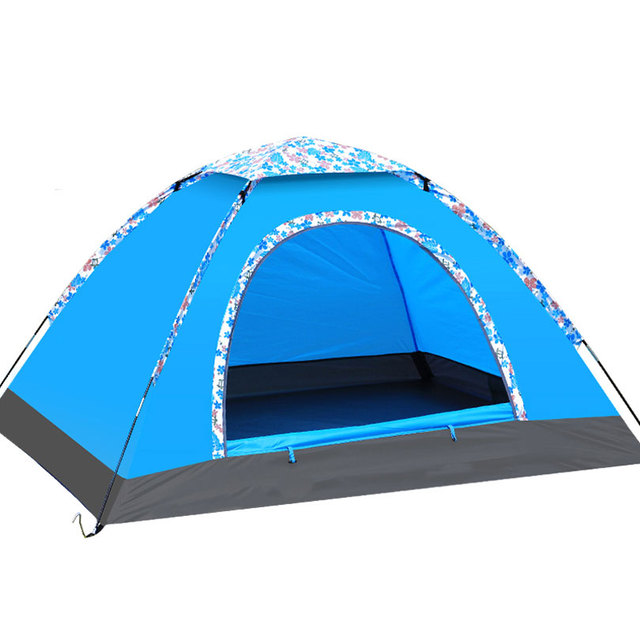 Waterproof 3 Season Tents for C&ing 3-4 Person Tent Ultralight 190T Polyester Fabric Single  sc 1 st  AliExpress.com & Aliexpress.com : Buy Waterproof 3 Season Tents for Camping 3 4 ...