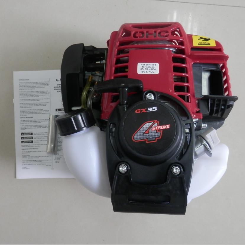 GX35 GASOLINE ENGINE 35 8CC 1 2HP 4 CYCLE BACKPACK 35CC BRUSHCUTTER TRIMMER KNASCK SPRAYER WIPPER