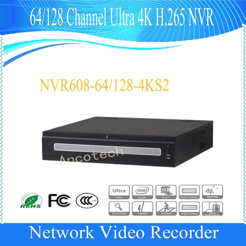 Dahua новый продукт 64/128 канала ультра 4 К H.265 сетевой видеорегистратор 12MP без логотипа NVR608-64-4KS2