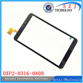 New 8'' inch touch screen panel digitizer Sensor for tablet DXP2-0316-080B Digitizer Glass Sensor replacement Free shipping