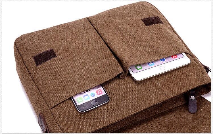 HTB17 v5azzuK1Rjy0Fpq6yEpFXag 2019 Vintage Men's Briefcase Canvas Men Messenger bag Classic Designer Shoulder Bags Pocket Casual Business Laptop Travel bags