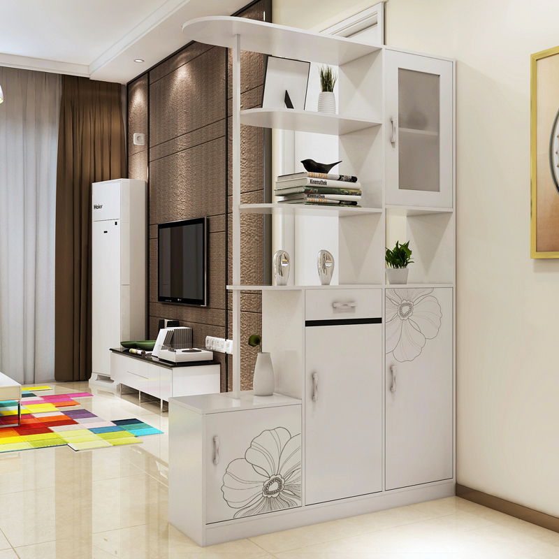 Man Patriarch Paint Hall Cabinet Wine Living Room Entrance Modern Minimalist Shoe Off Simple Double Door In Children Cabinets From
