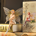 Creative Gifts Home Furnishing Ornaments Suspending Doll Fairy Angel Living Room Tv Cabinet Resin Decoration Garden Decoration