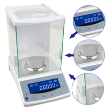Promo offer 120 x 0.0001g 0.1mg Lab Digital Analytical Balance Precision Electronic Scale