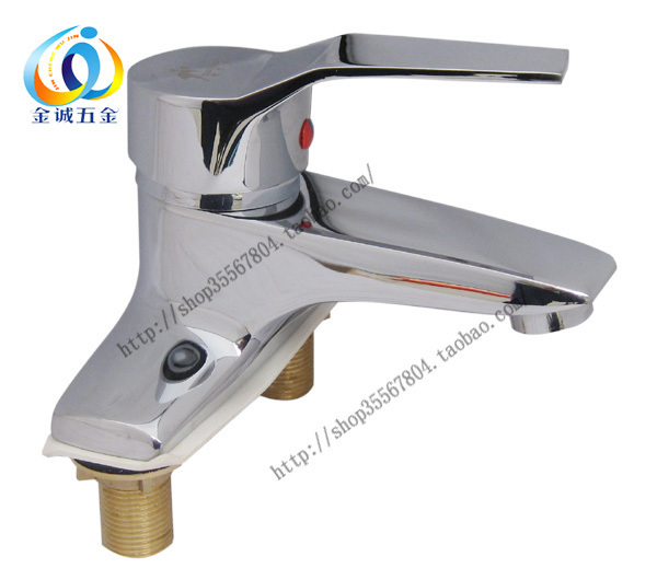 Copper Basin Poem Hot And Cold Counter Basin Faucet Double Basin 8417 In Basin Faucets From Home Improvement On Aliexpresscom Alibaba Group