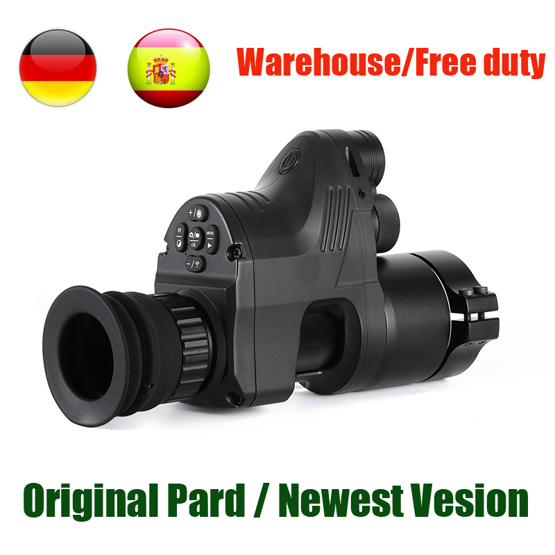 PARD NV007 Digital Câmeras de Caça Night Vision Scope 5 DIY w/IR/Infrared Night Vision Riflescope 200M gama Noite Rifle Óptica