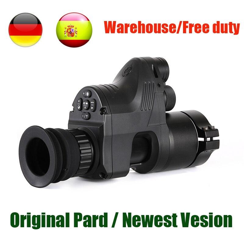 PARD NV007 Digital Câmeras de Caça Night Vision Scope 5 DIY w/IR/Infrared Night Vision Riflescope 200M gama Noite Rifle Óptica