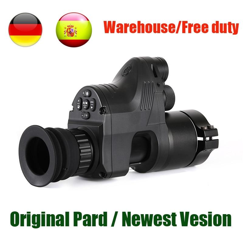 PARD NV007 numérique chasse Vision nocturne portée caméras 5 w bricolage/IR/infrarouge Vision nocturne lunette de visée 200 M portée nocturne fusil optique
