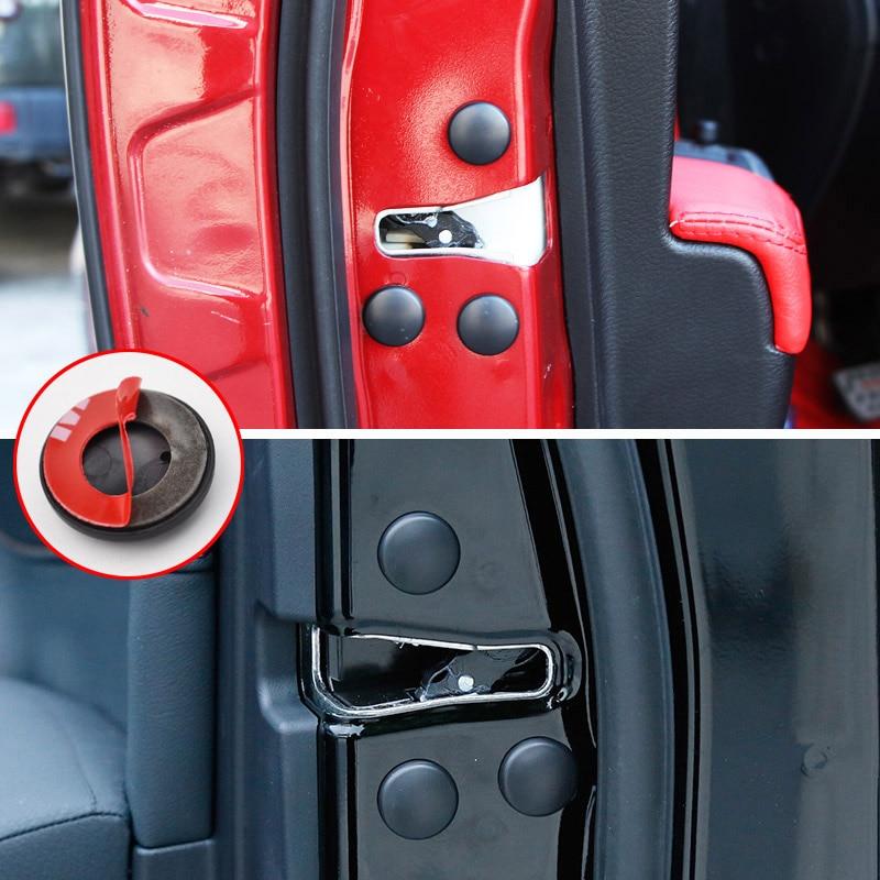 Image 4 - 12Pc cerradura de la puerta del coche cubierta protectora de tornillo para Toyota Land Cruiser 200 Prado J150 RAV4 Corolla Camry Highlander Sienna Yaris Priuscover forcover coverscover for car -