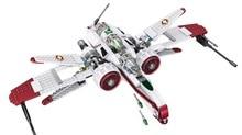 ЛЕЛЕ 35004 Star Wars R4-P44 Arc-170 Истребитель Собраны Игрушки Строительные Блоки Клон Пилот Капитан Jag Кит Фисто кирпичи 8088
