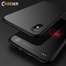 CASEIER Soft Phone Case For iPhone X Cases Ultra Thin TPU Funda Case For iPhone X 6 6s 7 8 Plus 5 5s SE Phone Cover Capa Capinha heart shaped camera hole phone case for iphone 7 6s 5 candy color ultra thin scrub for iphone 6 7 8 plus phone cases capa coque