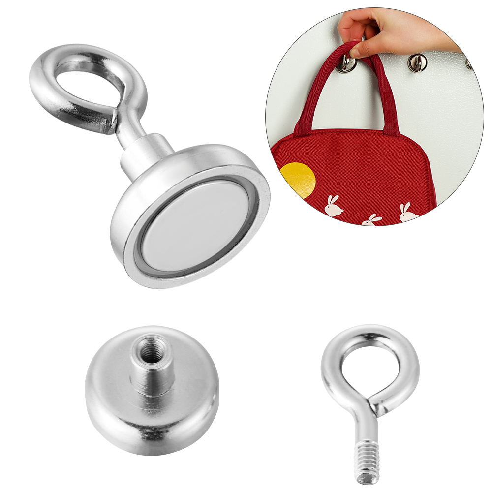 Pothook Storage Rack Heavy Duty Hanger Ring Magnetic Hook Strong Powerful