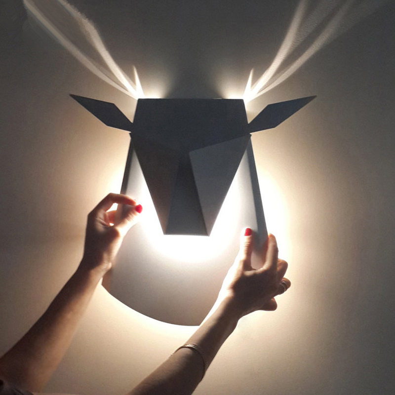 LED Modern aisle wall sconces living room wall lights nordic restaurant lighting bedroom fixture Novelty stairs wall lamps led modern aisle wall sconces living room wall lights nordic restaurant lighting bedroom fixture novelty stairs wall lamps