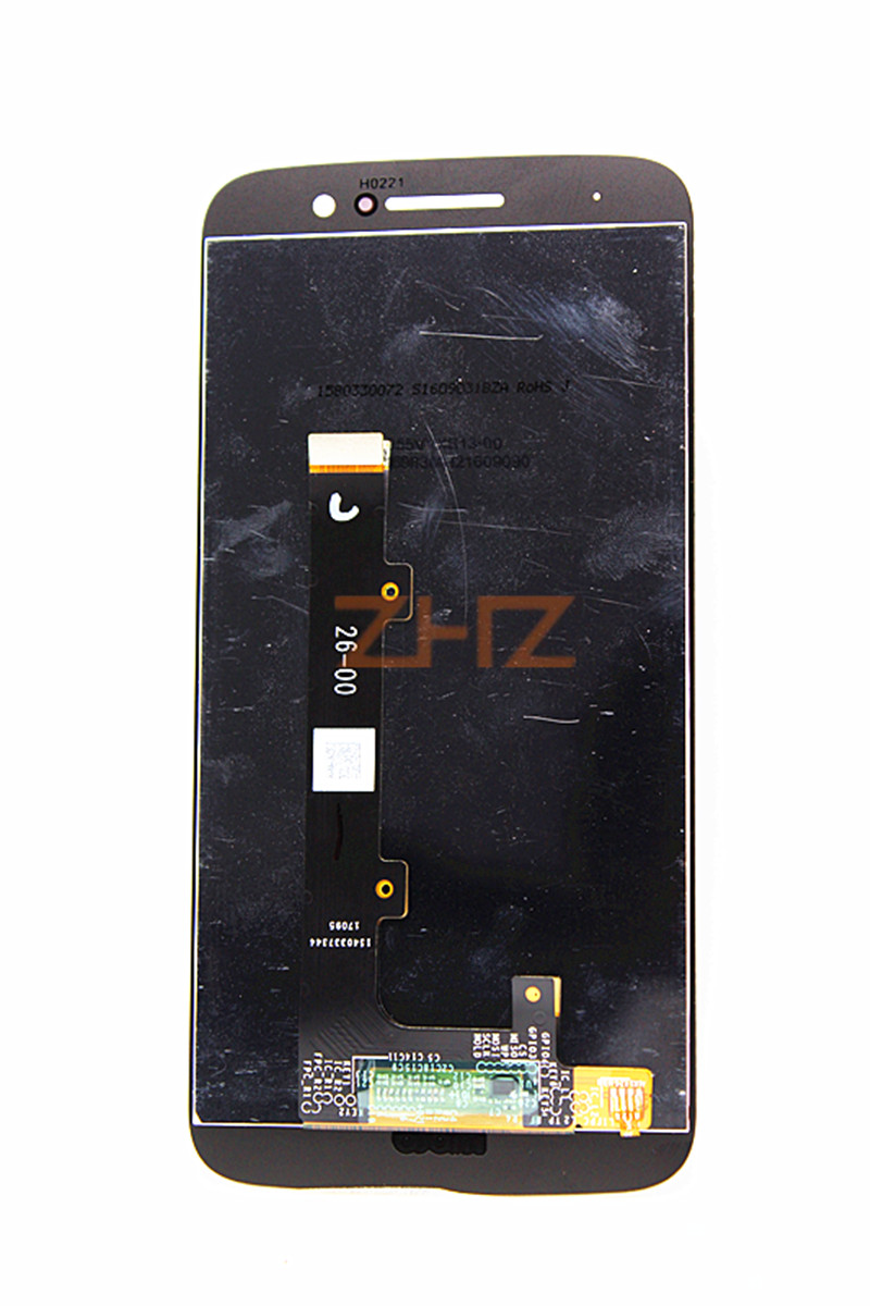 For Motorola Moto M <font><b>Xt1662</b></font> <font><b>LCD</b></font> Display Touch Screen Panel with Digitizer Front Glass Assembly parts Accessory image