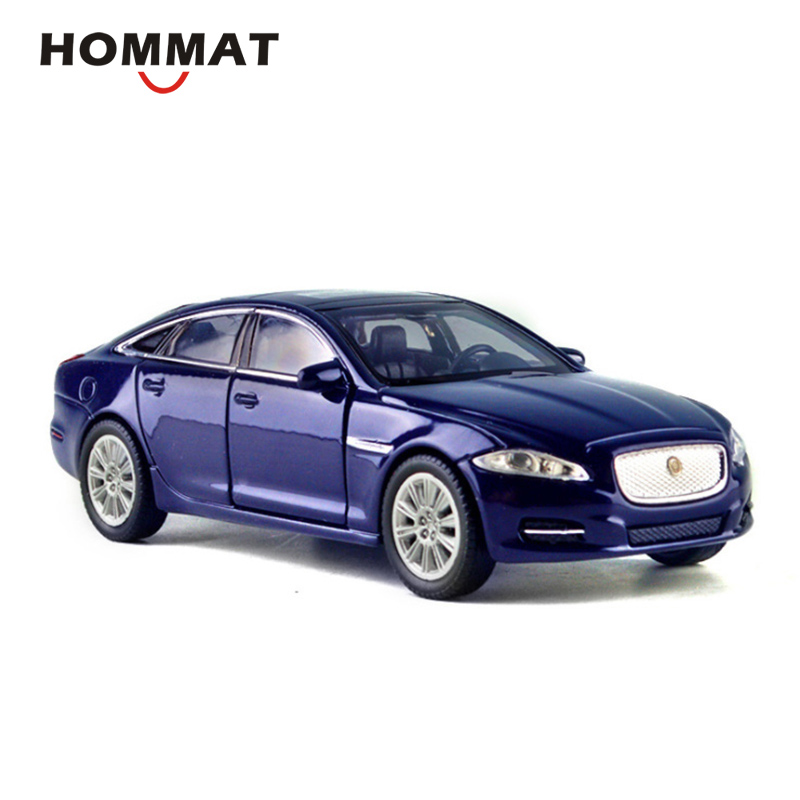 2010 Jaguar Coupe: HOMMAT Simulation 1:36 Jaguar XJ 2010 Car Alloy Diecast