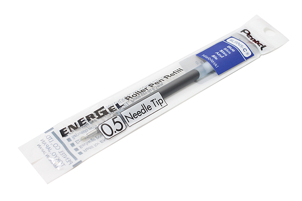 Pentel EnerGel LRN5 Needle-Point Gel Pen Refill - 0.5 mm/0.4mm Black/Blue/Red For Pentel BLN-75 pentel гелевая ручка energel цвет черный