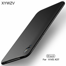 ViVO X27 Case Silm Shockproof Cover Luxury Ultra-Thin Smooth Hard PC Phone Case For ViVO X27 Back Cover For Vivo X 27 Fundas 6 39 cover for vivo x27 case flip luxury leather wallet case for vivo x27 phone case for vivo x 27 soft silicone back cover