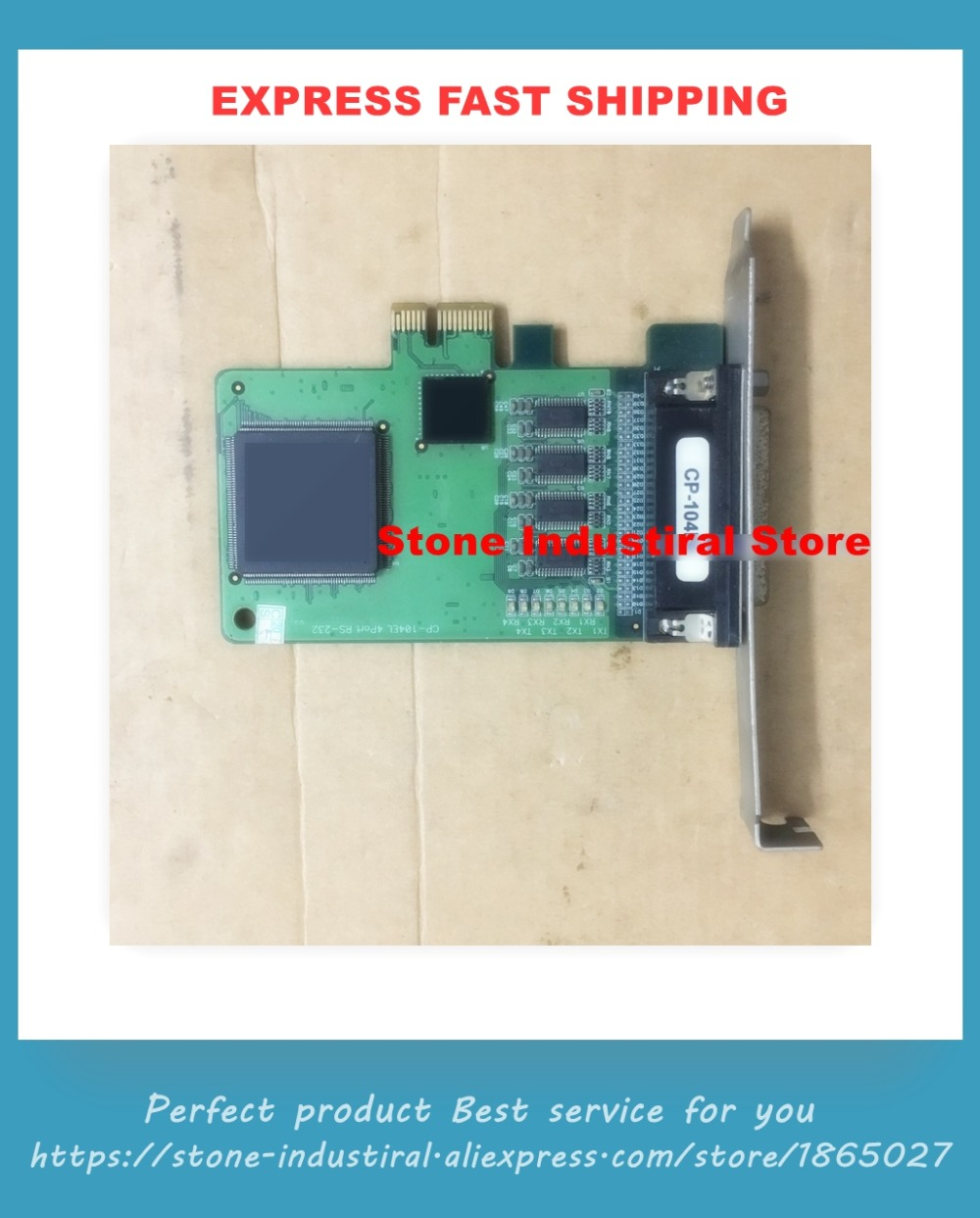 CP-104EL dorigine 4 ports RS232 PCI-ECP-104EL dorigine 4 ports RS232 PCI-E