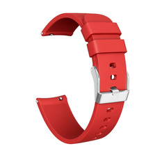 Twill silicone Strap For Galaxy Watch Active Classic Silicone Bracelet Wristband Replacement Piece Buckle Belt HOT