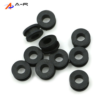 10X Rubber Motorcycle Side Cover Grommets Fairings Set for Honda CBR954RR CBR929RR CBR600RR CBR1000RR CBR 954 929 600 1000 RR image