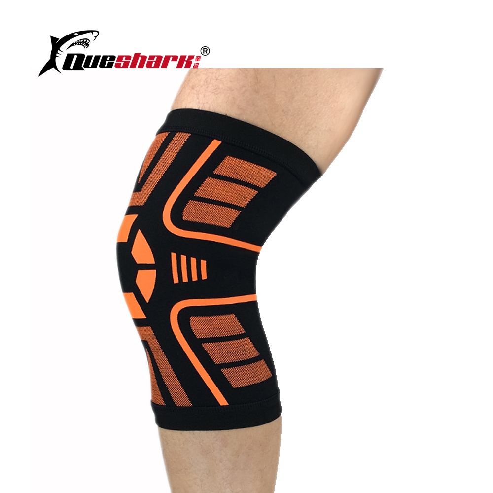 1 Pcs Sports Kneepad Elastic Running Cycling Knee Brace Support Football Basketball Weightlifting Fitness Knee Protection