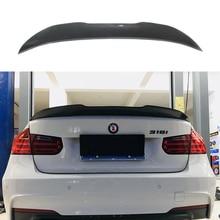 F80 M3 Carbon Fiber Rear Spoiler PSM Style Boot Lip For BMW F30 3 Series 320i 318d 316d 328i 335i Saloon 2012 + стоимость