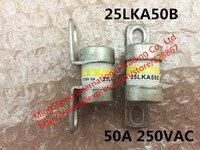 Garantía de Calidad 25LKA50B 50A AC250V DC350V fusible rápido fusible del tubo