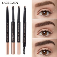 SACE LADY Eyebrow Pencil Makeup Professional Eye Brow Pen Make Up Tint Waterproof Paint Shade Natural Brand Cosmetics