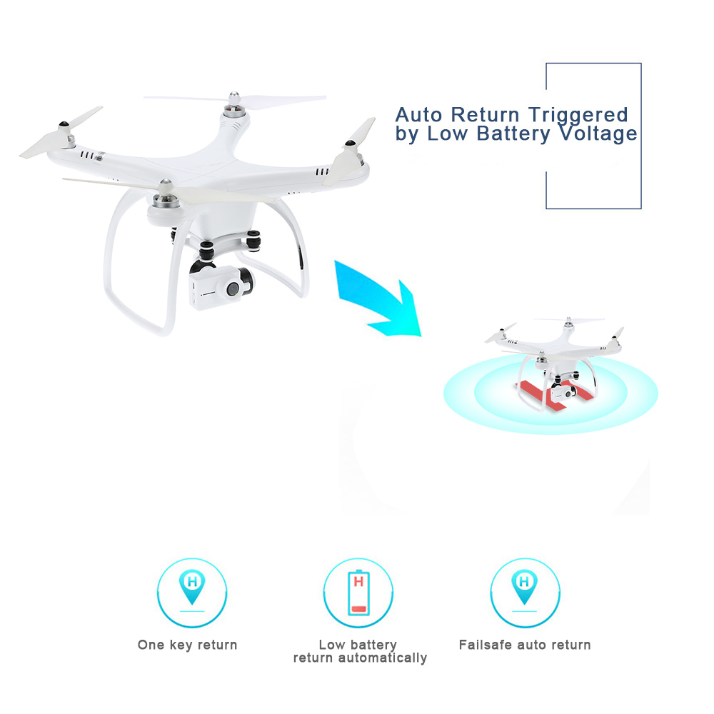 Professional Drone with Camera FPV Altitude Hold One Key Return RC Quadcopter with 4K 1080P HD Camera Drone Quad Aerial Dron (7)